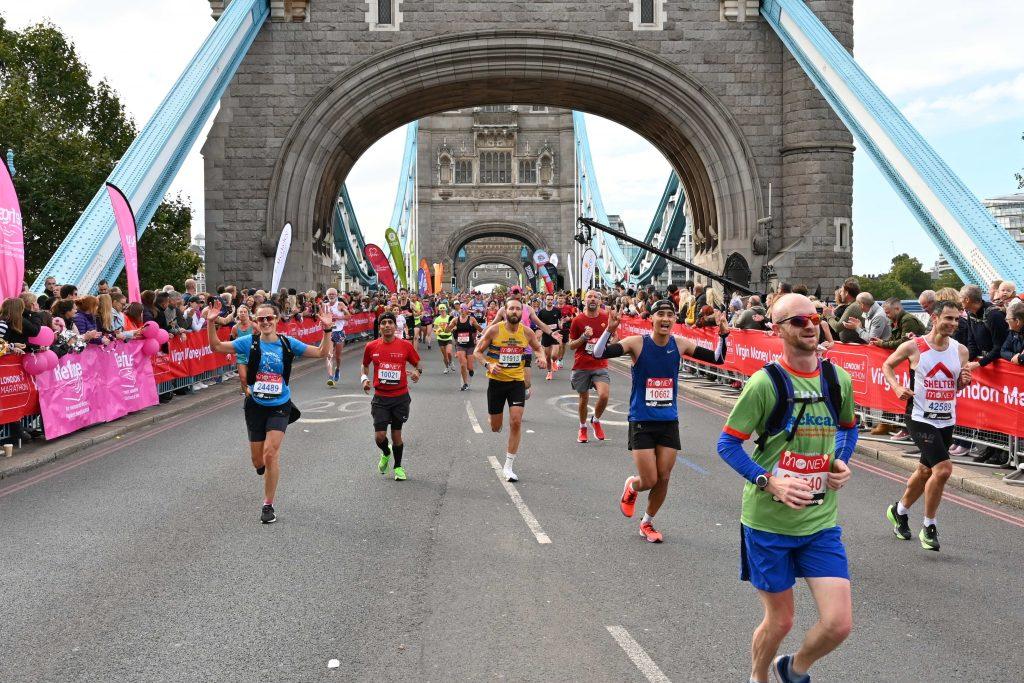 London Marathon - Tower Bridge