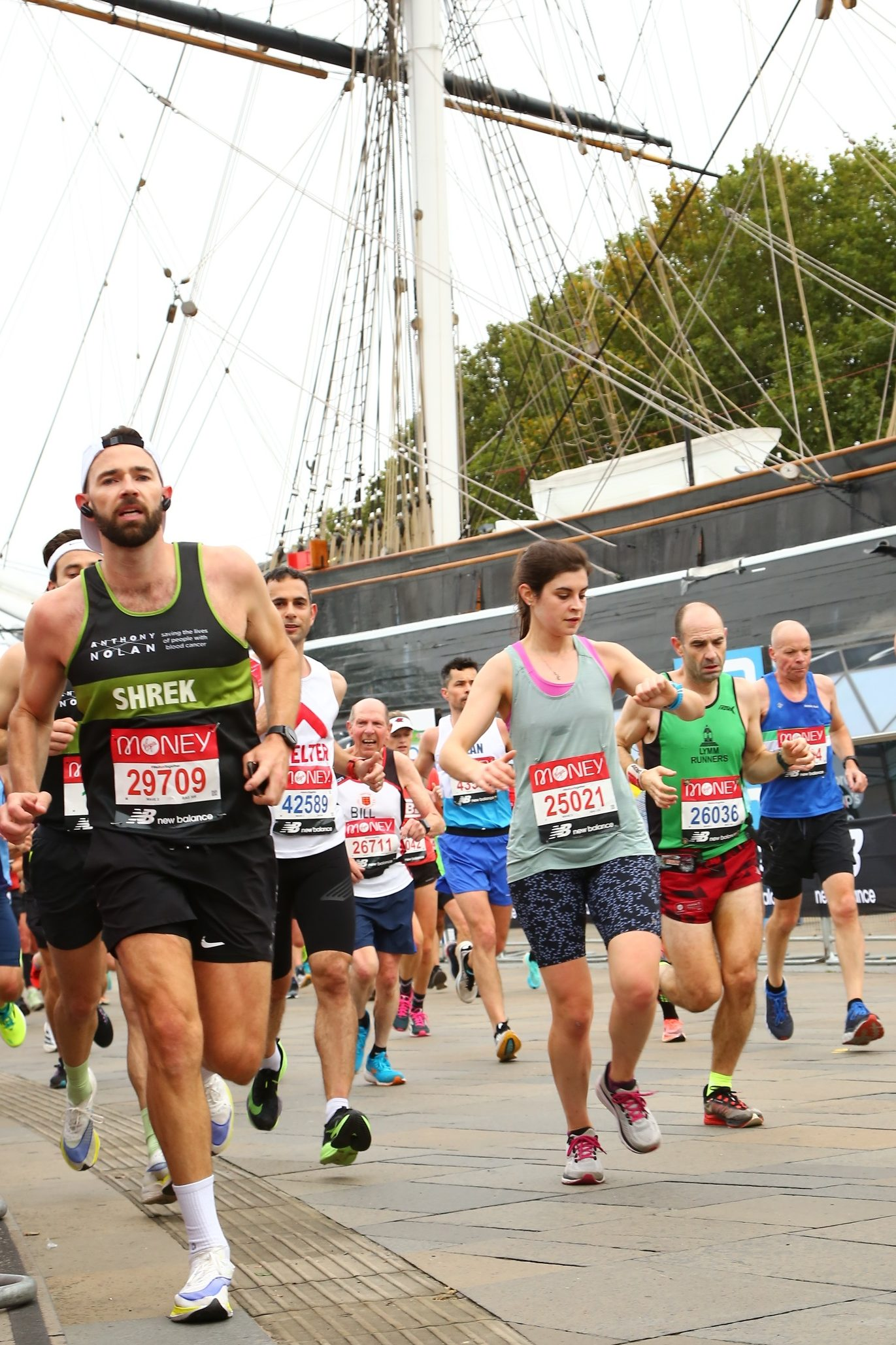 London Marathon - Cutty Sark